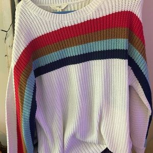 Terra and sky sweater